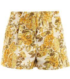 Warwick floral jacquard shorts by Stella Mccartney  #matchesfashion