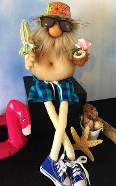 Summer Crafts, Summer Diy, Snowflake Poem, Biker Gnomes, Christmas Gnome, Fairy Dolls, Diy Stuffed Animals, Cute Crafts, Craft Show Ideas