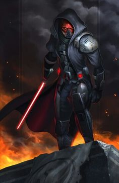 Darth Malgus /by ?? #StarWars #art