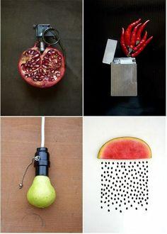 28 créations du FOOD ART