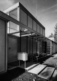 DigitaltMuseum - Korsmo, Arne House Design, Architecture, Core, Walls, Group, Home Decor, Arquitetura, Decoration Home, Room Decor