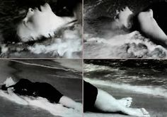At Land ~ Stills from 1944 Maya Deren 15-minute experimental surrealist film via Pud Whacker's Madonna Scrapbook: Cherish At Land