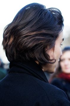 On the Street…..Great Hair, Paris - The Sartorialist