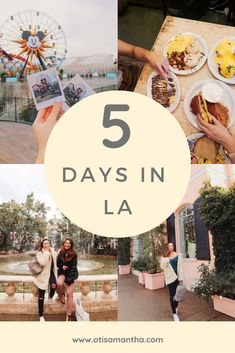 Only have 5 days in Los Angeles? Don't worry, I have my must dos in LA so that y… Only have 5 days in Los Angeles? Don't worry, I have my must dos in LA so that you get the most out of your trip. Los Angeles Trip, Los Angeles Travel Guide, Disneyland Los Angeles, Downtown Los Angeles, California Outfits, California Vacation, California California, California Pictures, California Destinations