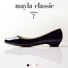 "mayla classic Edition7  Ana「『痛くない、歩きやすい、そして美しい…永遠のフェイバリットアイテム』""日本人の足に最も合う、履き心地の良い靴とは何か""最新モデルでは""日本人の足に最も合う、履き心地の良い靴とは何か""という要素を研究し取り入れる事で美しいシルエットはそのままに従来にない快適な履き心地と耐久性を実現しました。」 #pumps #fashion #mayla_classic"