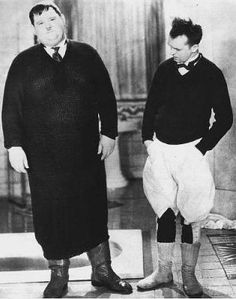 "Laurel and Hardy in ""Be Big"" Talking Feature 1931"