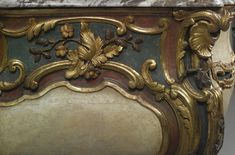 a south german rococo walnut and fruitwood commode