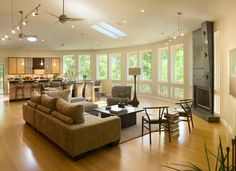 great room with great windows