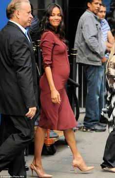 Zoe Saldana is expecting twins!