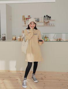 Korean Dress, Korean Style, Korean Fashion, My Style, Coat, Jackets, Clothes, Outfits, Dresses