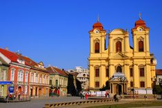 This photo from Timis, West is titled 'Roman Catholic Church - Timisoara'. Place Of Worship, City Break, Roman Catholic, Eastern Europe, Great Places, Notre Dame, Cathedral, Timisoara Romania, Architecture