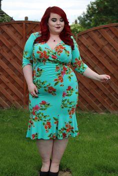23261c30baa Scarlett   Jo Aqua Blue Jersey Fishtail Dress - She Might Be Loved