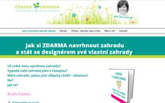 Míša Nemuchovská a její ebooky ZDARMA: 8 kroků k úžasné zahradě - Návod, jak si navrhnout vysněnou zahradu