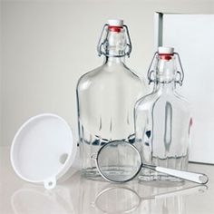 The Homemade Gin kit, letting you add your own botanical flavors.