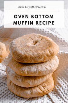 My favourite type of bread bun is the Lancashire oven bottom muffin. It's the perfect sandwich bread! Here's my step by step recipe. Muffin Recipes, Baking Recipes, Bread Recipes, Cheesy Chips, Scones And Jam, Fish Finger, British Baking, Bread Bun, Burger Buns