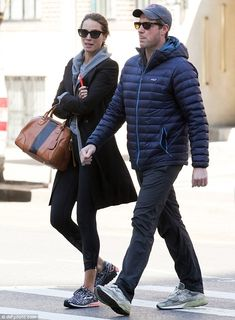Just the two of them: On Friday, Christy Turlington and husband Edward Burns enjoyed a qui...