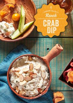 Warm your bellies this Thanksgiving with delicious crab dip.   Recipe: http://hiddnval.ly/YZPlUC
