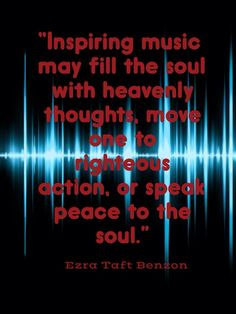 Inspiring music fill the souls with heavenly thoughts...