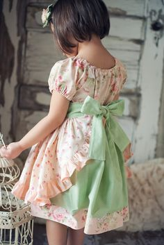Spring Marie Antoinette Inspired Dress Ruffled