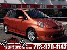 2007 Honda Fit, 166,965 miles, $6,999.