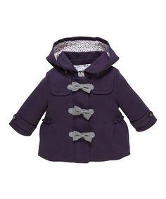 Look what I found on #zulily! Purple Fleece Jacket #zulilyfinds