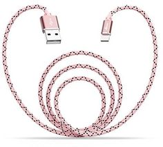 USB Cable Apple 6 Feet 1.8 M Braided Nylon Lightning Fast Charging Alloy Cord #Aimus