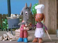 Mekk Elek az ezermester (1974) Hungary, Puppets, Garden Sculpture, Animation, Memories, Cartoon, Dolls, Christmas Ornaments, Holiday Decor