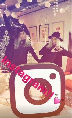 Lisa and Lena ♡ ~ bad quality:((