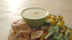 Croustilles santé et trempette trippante   Cuisine futée, parents pressés (sans le jaune d'oeuf)