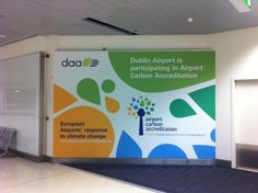 Dublin Airport's Promo for Airport Carbon Accreditation (Pier D Arrivals - March 2012)