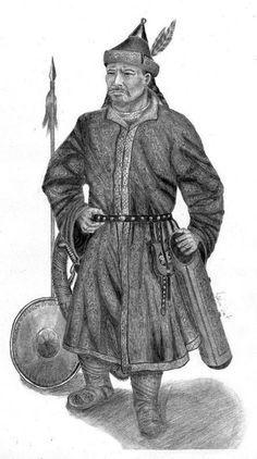 Kök Turk (Tujue) Nobleman - Ashina Clan - Gökturks