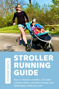 An exclusive guide to choosing the best jogging stroller, 12 week workout plans to get you into running shape, and tips to keep your child happy while you get your miles in! #running #stroller #kids Stroller Workout, Jogging Stroller, 12 Week Workout Plan, Workout Plans, Weight Lifting, Running With Stroller, Baby Girl Strollers, Running Guide, Running Friends