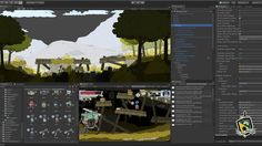 Feudal Alloy - Behind the Scenes  http://store.steampowered.com/app/699670  #feudalalloy #indiegame #indiedev #gamedev #indiegames #madewithunity #metroidvania #rpg #unity3d
