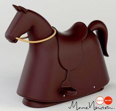 Isso é que é um cavalinho de balanço! #Design