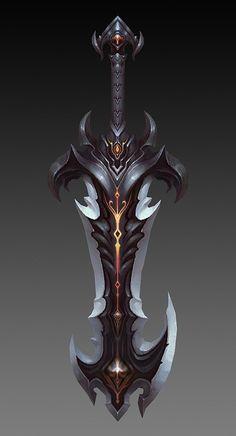 pugui_新浪博客 // great fantasy sword.