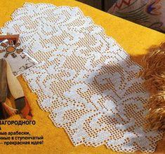 crochet em revista: Junho 2013 Crochet Placemats, Crochet Potholders, Crochet Doilies, Filet Crochet, Crochet Home, Easy Crochet, Knitting Patterns, Crochet Patterns, Manta Crochet