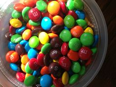 <b>There's a special place in hell for people who mix M&Ms and Skittles in the same candy dish.</b>