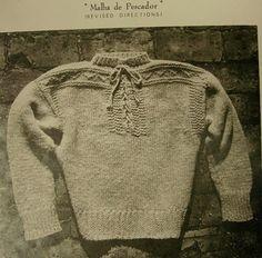 portuguese fisherman's sweater (malha de pescador)