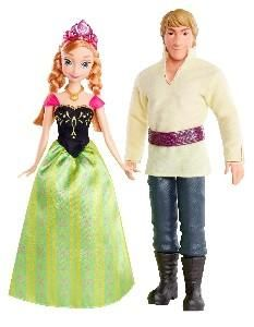 Frozen Anna & Kristoff Dolls 2 Pack #frozen #doll $24.97 to $29.99 www.ShopWithNeal.com