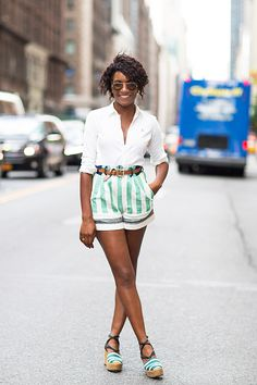 Editor's Style: Danielle Prescod's Matching Stripes