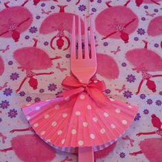 cupcake paper as a dress