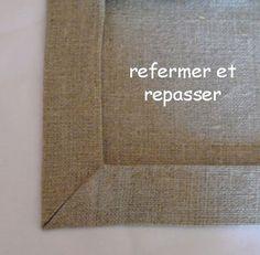 Comment faire un coin en onglet - diy couture - en français !