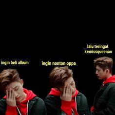 Memes Indonesia Ikon 56 Ideas For 2019 Memes Funny Faces, Funny Kpop Memes, Exo Memes, Offensive Memes, Bts Jimin, Mean Humor, Korea, Hanbin, Relationship Memes