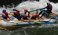 Go white water rafting in Victoria Falls starting from rapid 11 and ending at rapid 23 as per all the rafting companies in Victoria Falls. The best high water rafting trip in the world http://xtremexplorers.com/