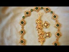 Jewellery Component 8mm Bezeled Bead - Tutorial - YouTube