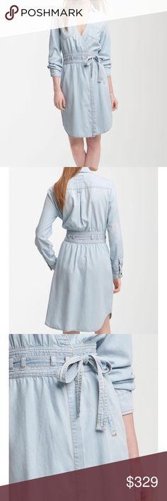 DVF 💕current/ Elliott wrap dress Dvf💕Current / Elliott Nwot , sold out dress Denim wrap dress Current/Elliott Dresses Midi