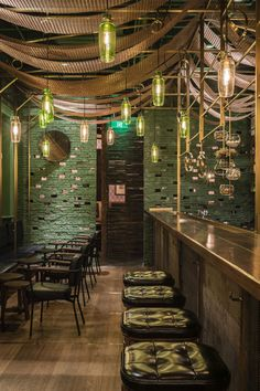 This Shanghai bar featuring bamboo-lined walls by local architects Neri&Hu specialises in one drink – punch – after which it is named.