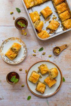 Recette de baklava à la pistache