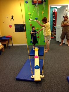 Swaying Balance Beams - Fun Factory Sensory Gym
