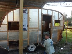Classic Trailers Vintage Restored | 1956 Jewel to be Restored by www.HeintzDesigns.com | Flickr - Photo ...